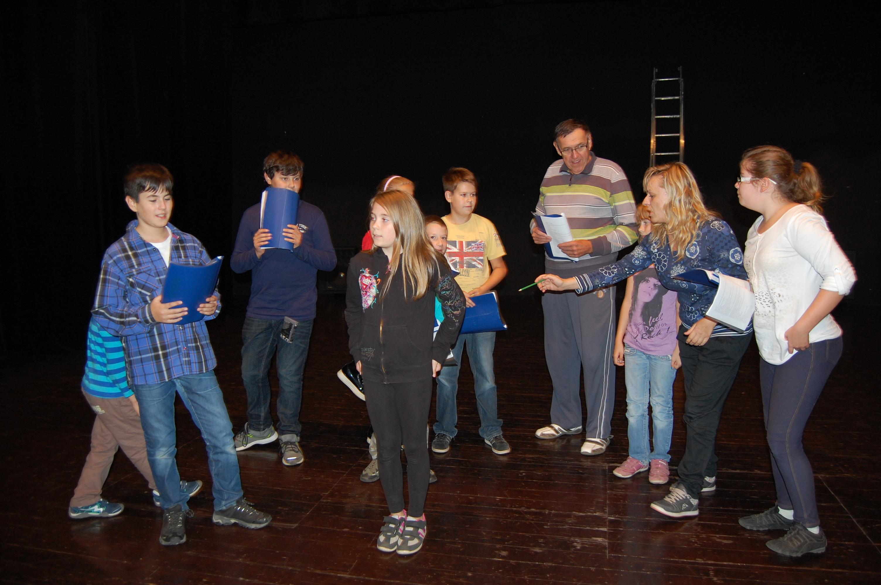 V hlavních rolích muzikálu se blýsknou děti ze Sedlčanska