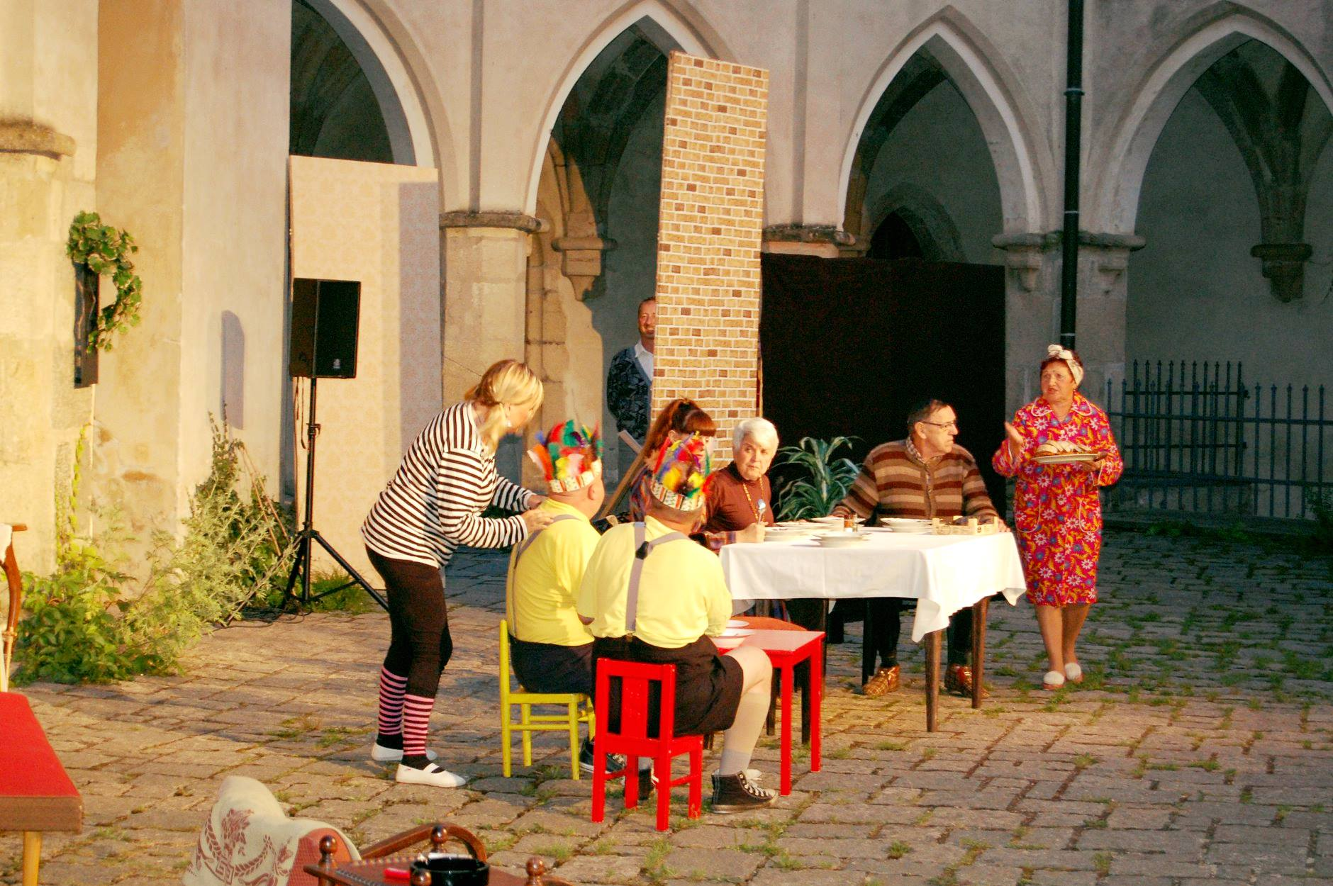 Sedlčanští ochotníci představili svoji hru na Zvíkově